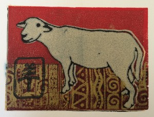 Borrego by , block print