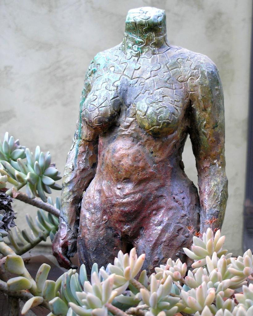 Raku Nude, Ceramic